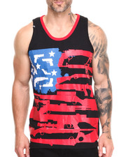 Buyers Picks - Guns, Stars & Stripes Tank Top