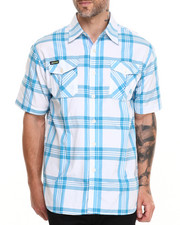 Akademiks - Tommy Plaid S/S Button down