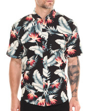 The Skate Shop - Birds of Paradise S/S Button-down