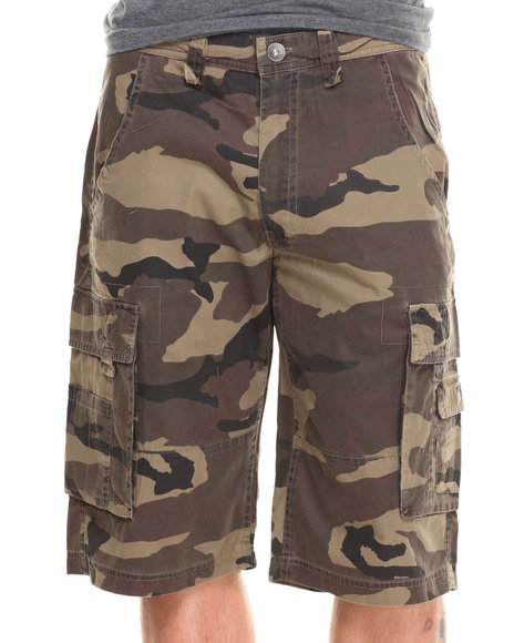 Pelle Pelle - Men Camo Pelle Classic Camo Shorts