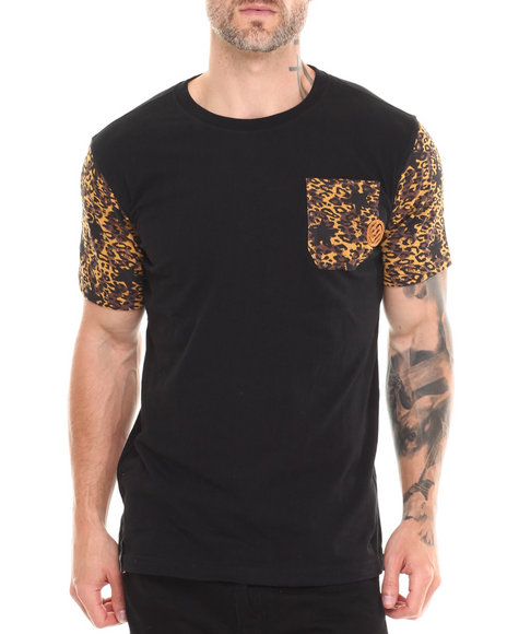 Enyce - Men Black Lynx T-Shirt