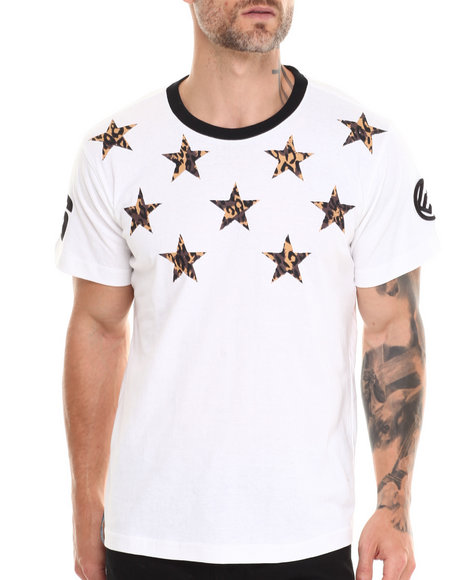 Enyce - Men White Jaguar T-Shirt - $21.99