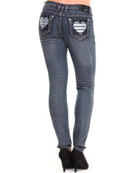 COOGI - Heart Back Jem Pocket Jeans