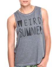 Women - Weird Summer Muscle Tank