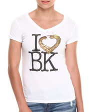 Tops - I Love BK Vneck Tee