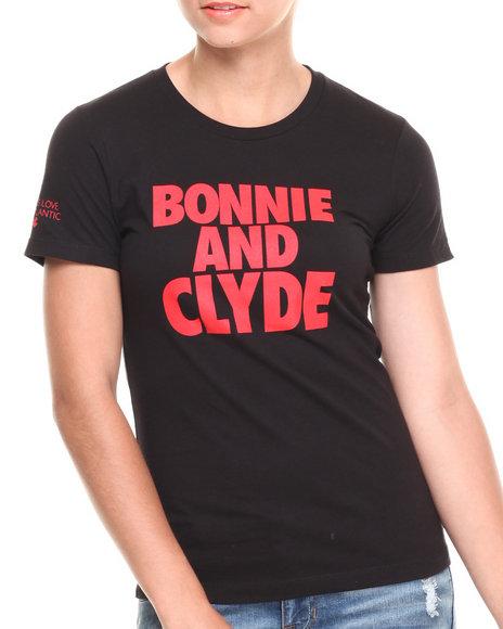 Rocawear Black Bonnie & Clyde Tee