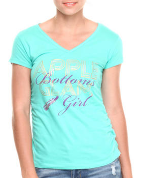 Apple Bottoms - Glam Girl V-Neck Tee