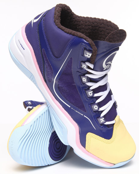 Reebok - Men Purple Q96 Crossexamine Easter Sneakers
