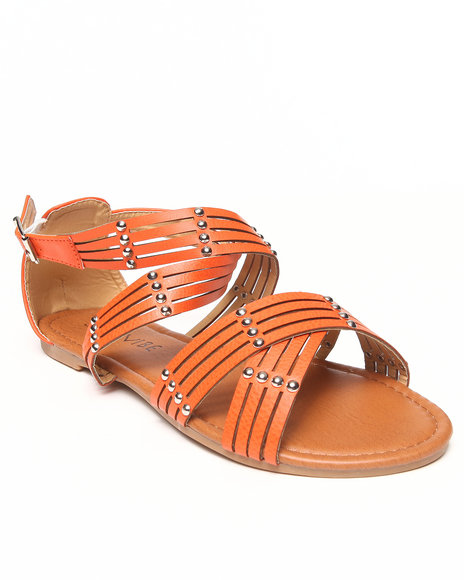Fashion Lab - Gala Flat Criss-Cross Sandal