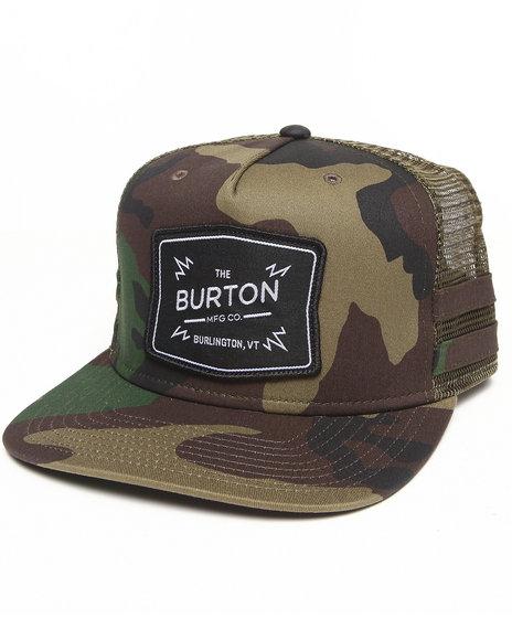 Burton Men Bayonette Snapback Cap Camo