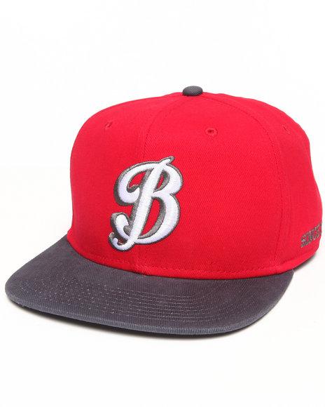 Burton Men Russell Snapback Cap Red