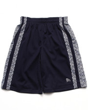 Sizes 8-20 - Big Kids - MESH SHORTS W/ DAZZLE TRIM (8-20)