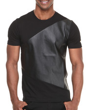 Akademiks - Countach 74 Faux Leather Premium Tee