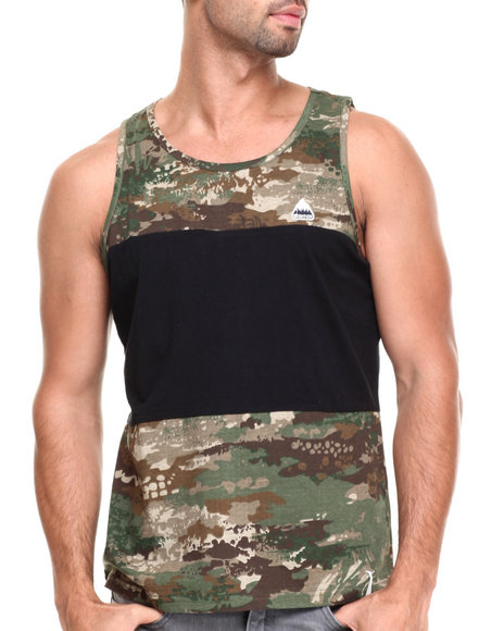 Burton - Men Camo Surface Stripe Tank