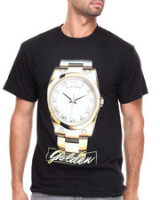 Men - Time is Golden T-Shirt