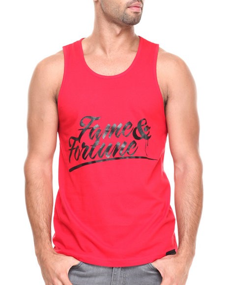 Filthy Dripped Red Tanks