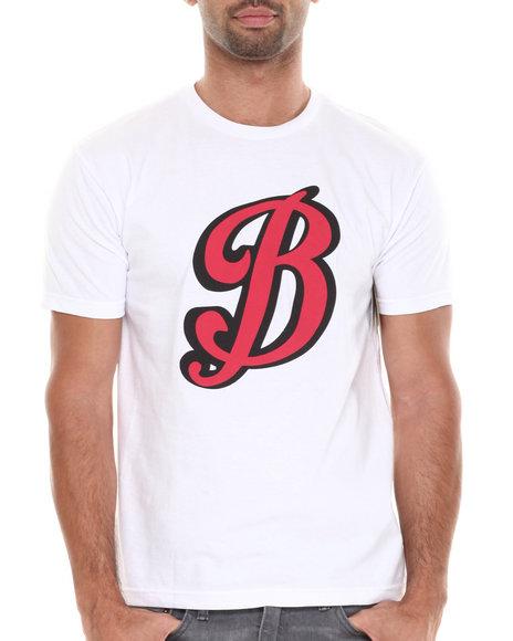 Burton White Big B Tee