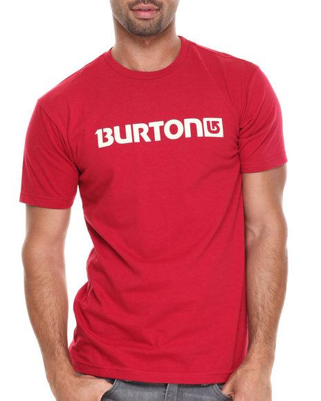 Burton Red Logo Horizontal Tee
