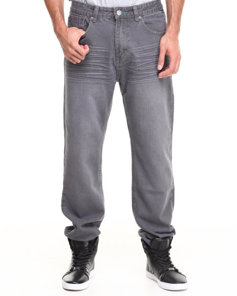 Enyce Grey Premium High Road Denim Jean