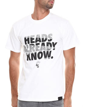 Filthy Dripped - Heads Already Know T-Shirt