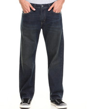 Jeans & Pants - 569 Loose Straight Fit Black Amped Jeans