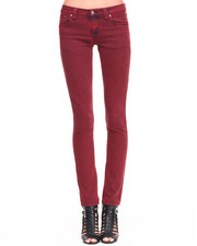 Skinny - Tight Long John Black Embo Jeans