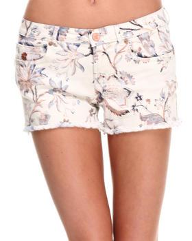 Women - Floral Shorts