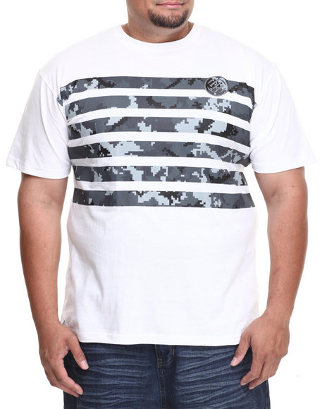 Enyce - Men White Platoon T-Shirt (B&T) - $19.99