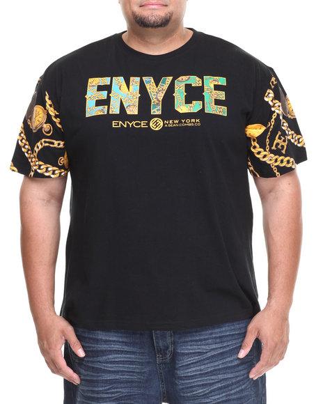 Enyce - Men Black Puff T-Shirt (B&T)