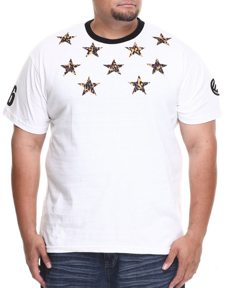 Enyce - Men White Jaquar T-Shirt (B&T) - $17.99