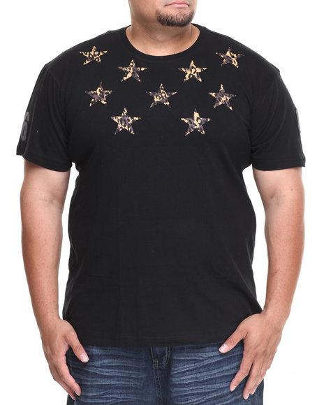 Enyce Black Jaquar T-Shirt (Big & Tall)
