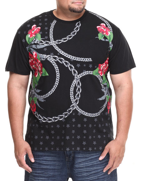 Enyce - Men Black Gold Rush T-Shirt (B&T)