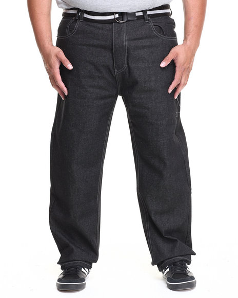 Enyce - Men Black High Road Belted Jean (B&T)