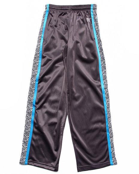 Arcade Styles - Boys Grey Elephant Print Tricot Track Pants (8-20)