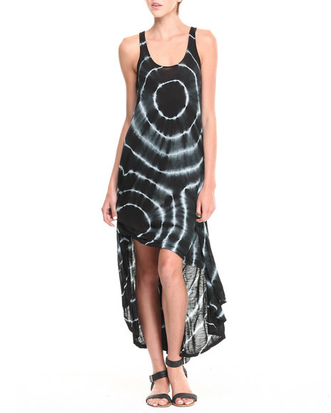 Fashion Lab - Gwen Tie-Dye Hi-Lo Tank Dress