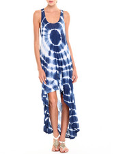 Dresses - Naomi Tie-Dye Hi-Lo Tank Dress