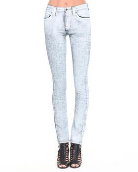Nudie Jeans - Tube Tom White Painted Jeans