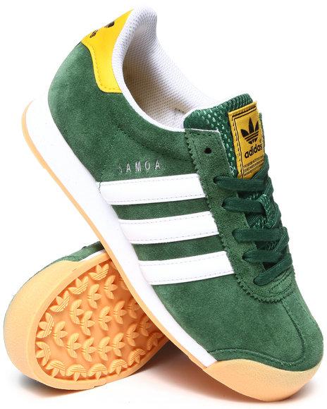 Adidas Boys Green Samoa Athletics Sneakers