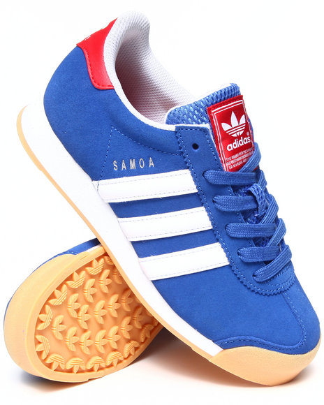 Adidas Boys Blue Samoa Phillies Sneakers