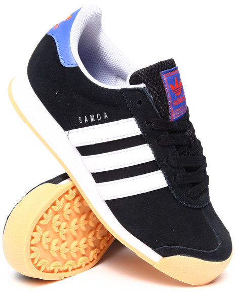 Adidas - Boys Black Samoa Mets Sneakers - $41.99