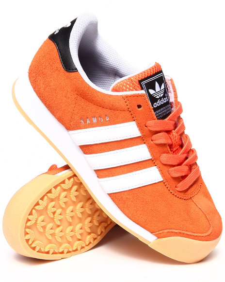 Adidas - Boys Orange Samoa Orioles Sneakers
