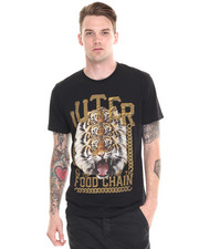 DJP OUTLET - Tiger & Chain Logo Tee
