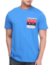 Men - Embroidered Pocket Tee