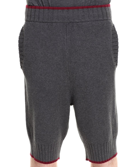 Darring Charcoal Sweater Short