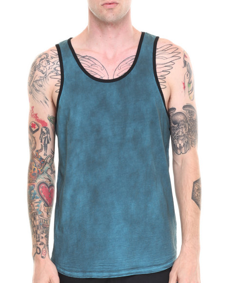 Darring - Men Blue Oiler Tank