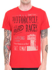 Holiday Shop - Men - Motorcycle Races T-Shirt