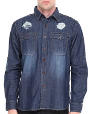 Syn Jeans - Mack L/S Denim Shirt