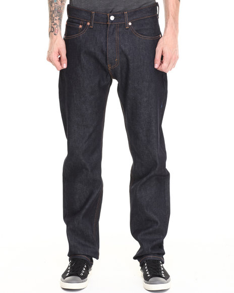Levi's Blue 505 Regular Fit Rigid Jeans