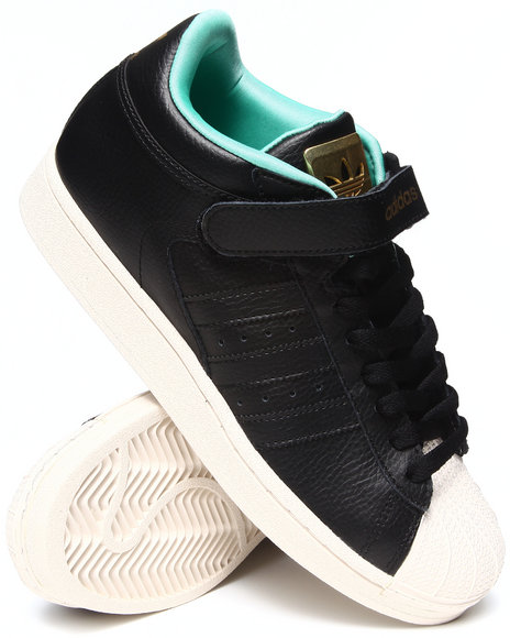 Adidas - Men Black Pro Shell Game Lux Pack Sneakers