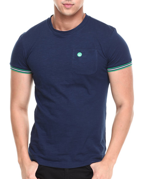 Adidas - Men Navy Stan Smith Ringer Tee